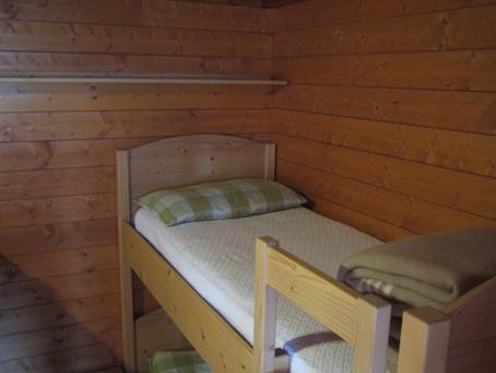 Gepflegtes Schlaflager im Rifugio Marinelli