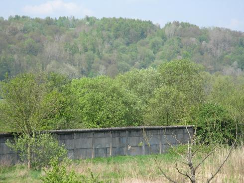 ehemalige Grenzmauer