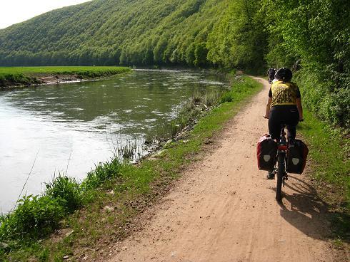 Im Flusstal der Werra